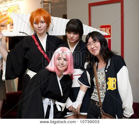 Festival Of Japanese Pop Culture In Moscow 2010