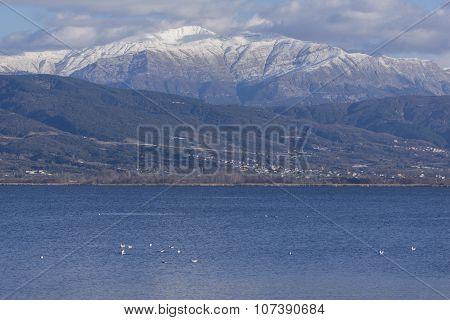 Lake Ioannina and Pindus Mountains, Epirus
