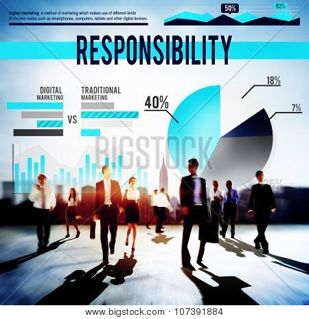 Responsibility Reliability Duty Liability Business Concept