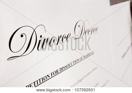 Divorce Closeup
