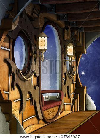 Steampunk Scene