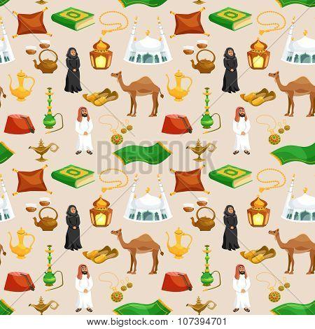 Arabic Culture Seamless