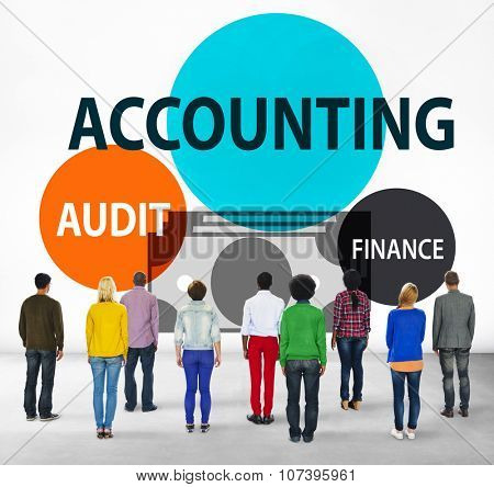 Accounting Audit Finance Economic Capital Concept