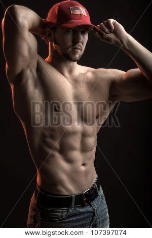 Muscular Athletic Man