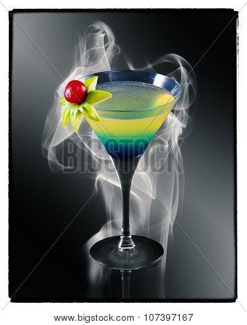 Coconut Rum Cocktail