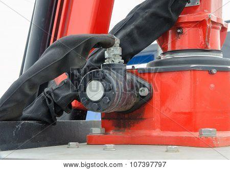 hydraulic bulldozer piston excavator arm