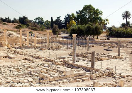 Apollo Temple and ruins at Amathus