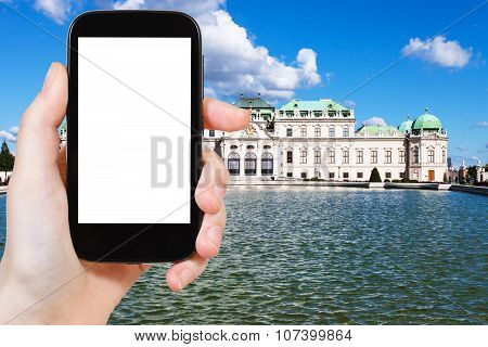 Picture Of Upper Belvedere Palace In Vienna