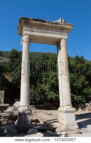 Hadrians Gate Ephesus Ancient City