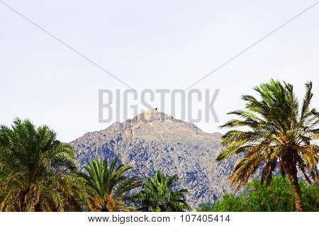 View Of The Mount Tahtali.kemer, Turkey.