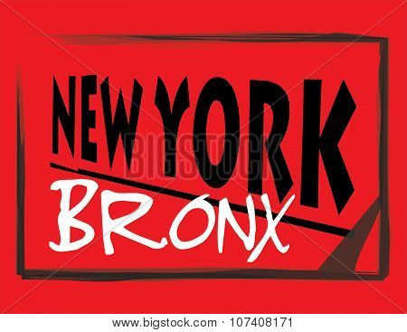 New York Bronx Abstract