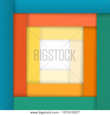 Frame-color-strips-of-paper-stylish-design-element