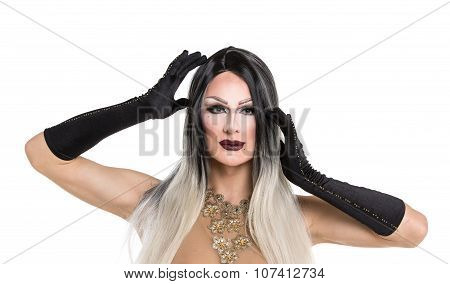 Portrait Of Drag Queen
