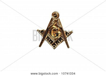 Masonic Emblem Lapel Pin