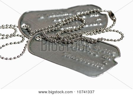 Soldier's Dog Tags