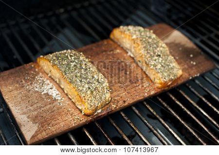 Grilled Wild Salmon