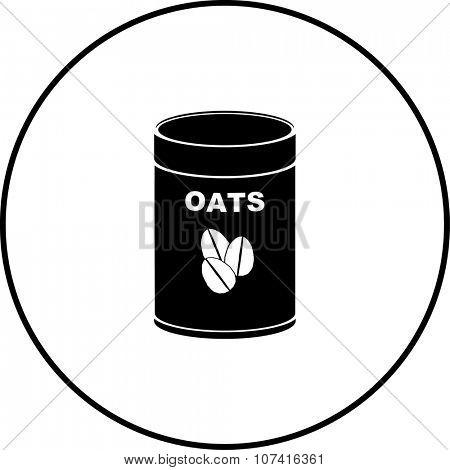 oats bottle symbol