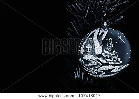 Silver sad Christmas
