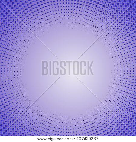 Blue Halftone Patterns.