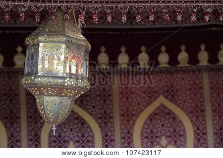 Typical Arabian lantern