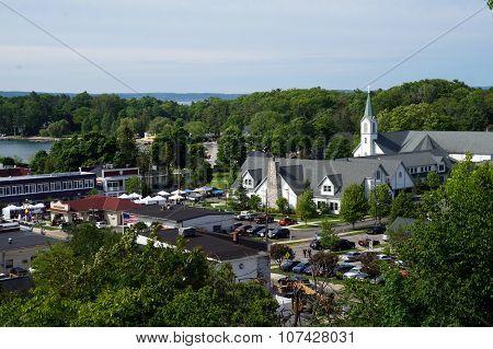 Catholic Church and Farmers' Market