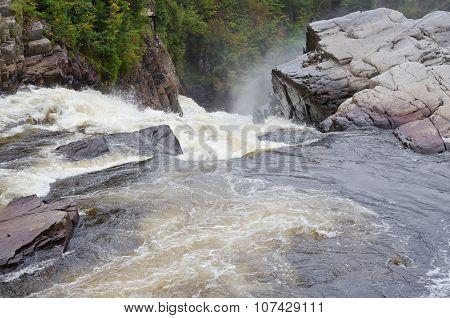 Canyons And Waterfalls