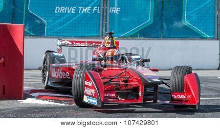 Loic Duval, Formula E - Putrajaya ePrix, Malaysia, 2015