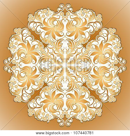 Vector pattern of ethnic ornament for design