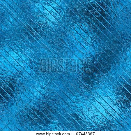 Light Blue Foil HD Texture