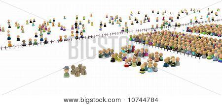Cartoon Crowd, Odd Company