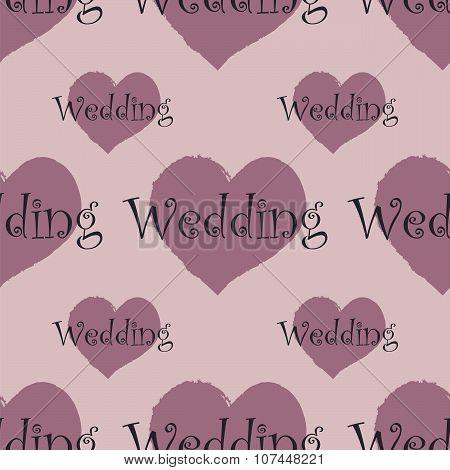 wedding seamless pattern