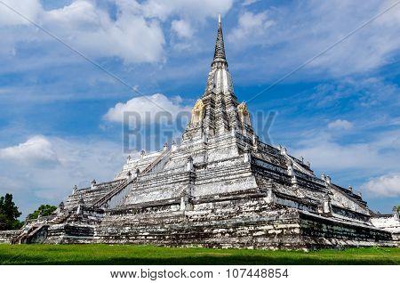 Ayutthaya (thailand) Wat Phu Khao Thong