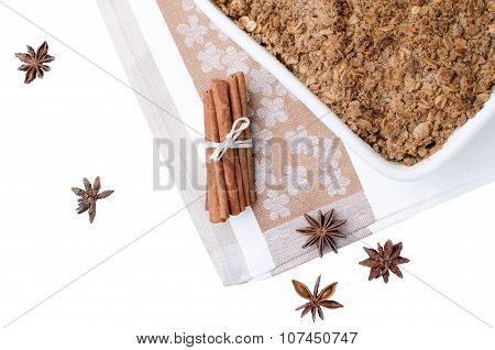 Crumble With Cinnamon