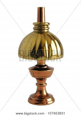 Brass Miniature Of Antique Table Lamp