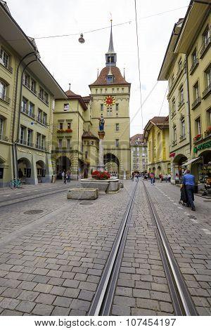 Bern, Kaefigturm, Prison Tower