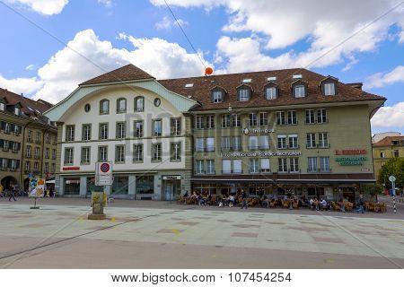 Bern, Townhouse At The Waisenhausplatz