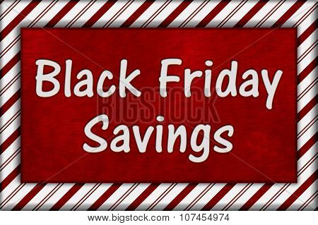Black Friday Shopping Savings