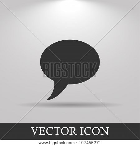 Chat Flat Icon .
