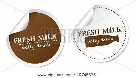 Fresh Milk Stickers