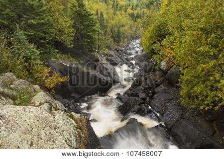 Poplar River Autumn Scenic