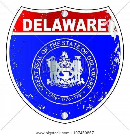 Delaware  Interstate Sign