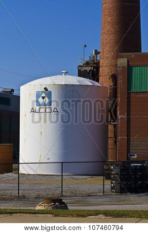 Lafayette, IN - November 2015: Alcoa Incorporated Forging And Extrusion Plant I