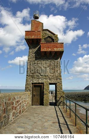 Lynmouth quay beacon