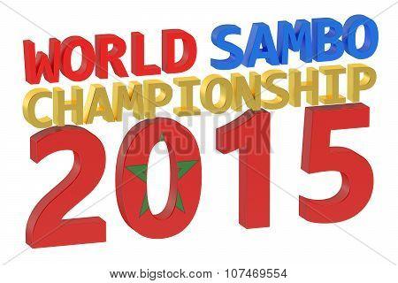 World Sambo Championship 2015 Concept