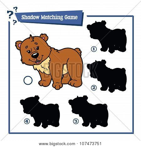 funny shadow bear game.