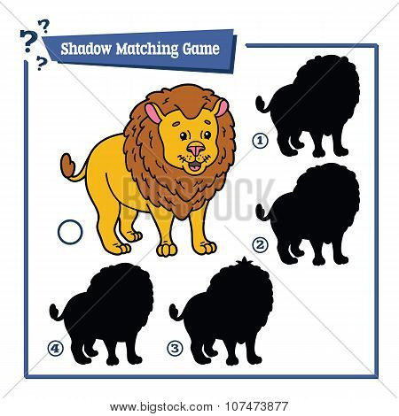 funny shadow lion game.
