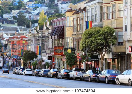 Castro District In San Francisco