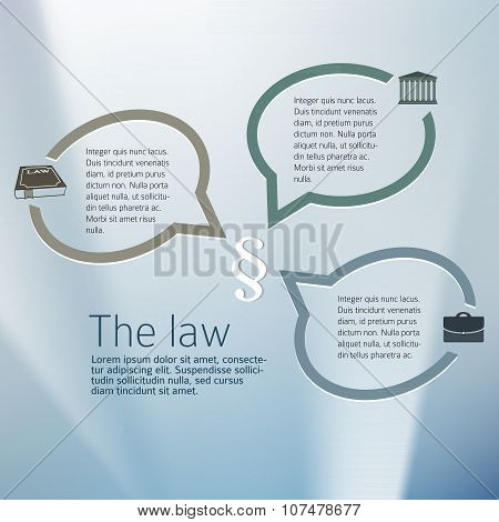 Laws-and-legal-concept-layout-flyers-page