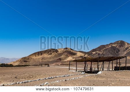 Tombs in the desert