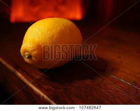 Single Rustic Lemon